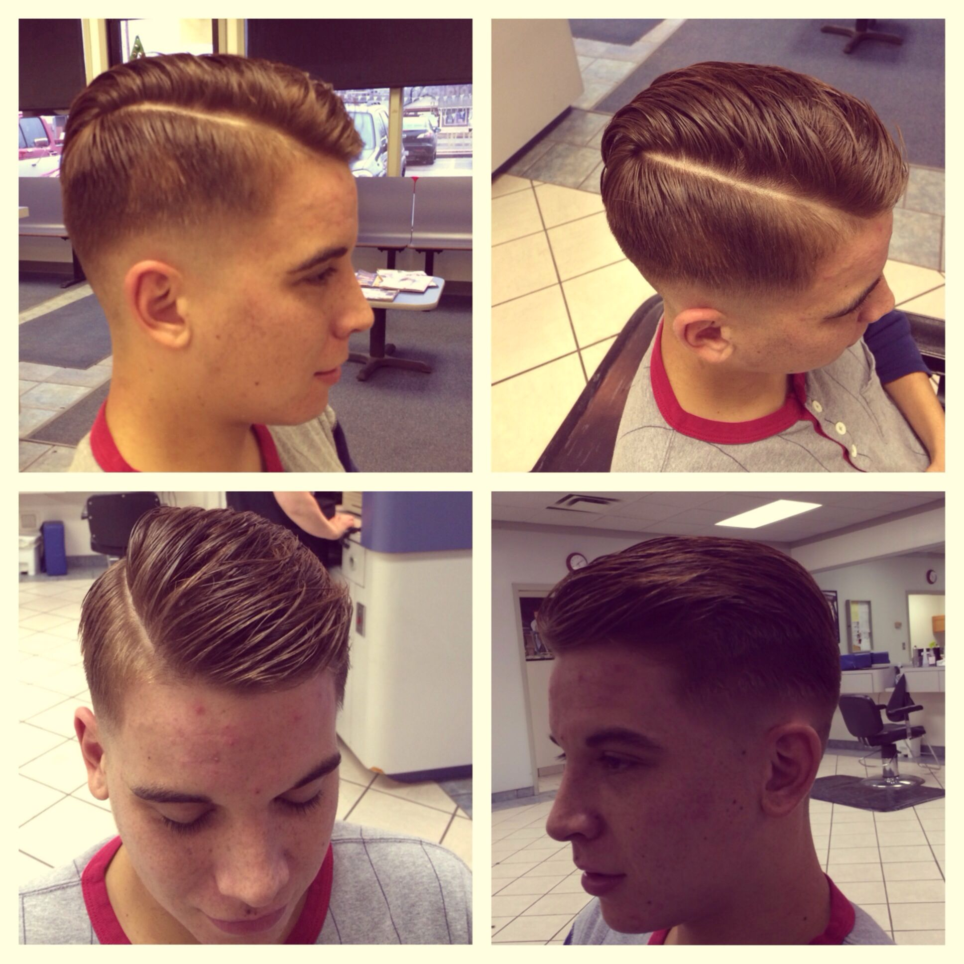 Mens Haircut Zero Fade With Razored Part This Is My New Fave
