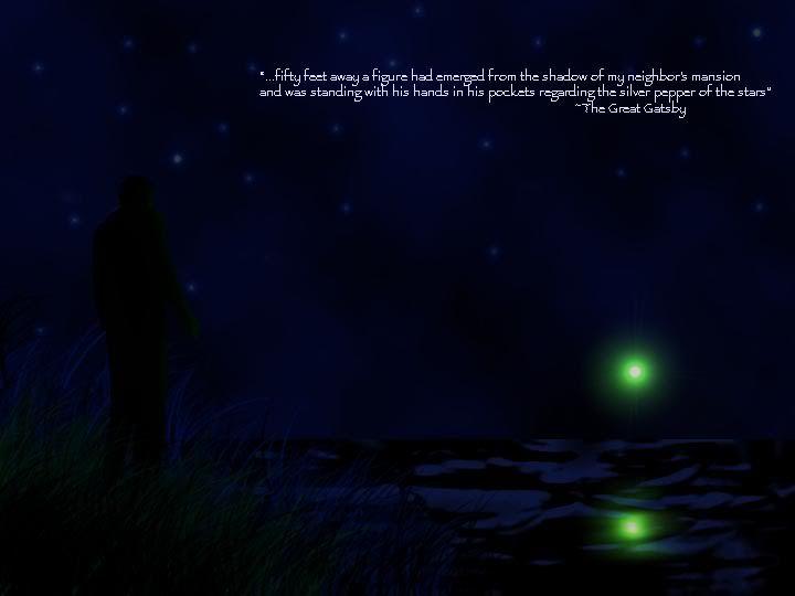 The Green Beacon The Symbol Of Gatsbys Dream His Love For Daisy