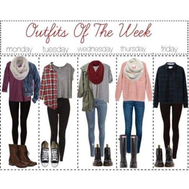 Love love love these outfits of the week, perfect for fall +