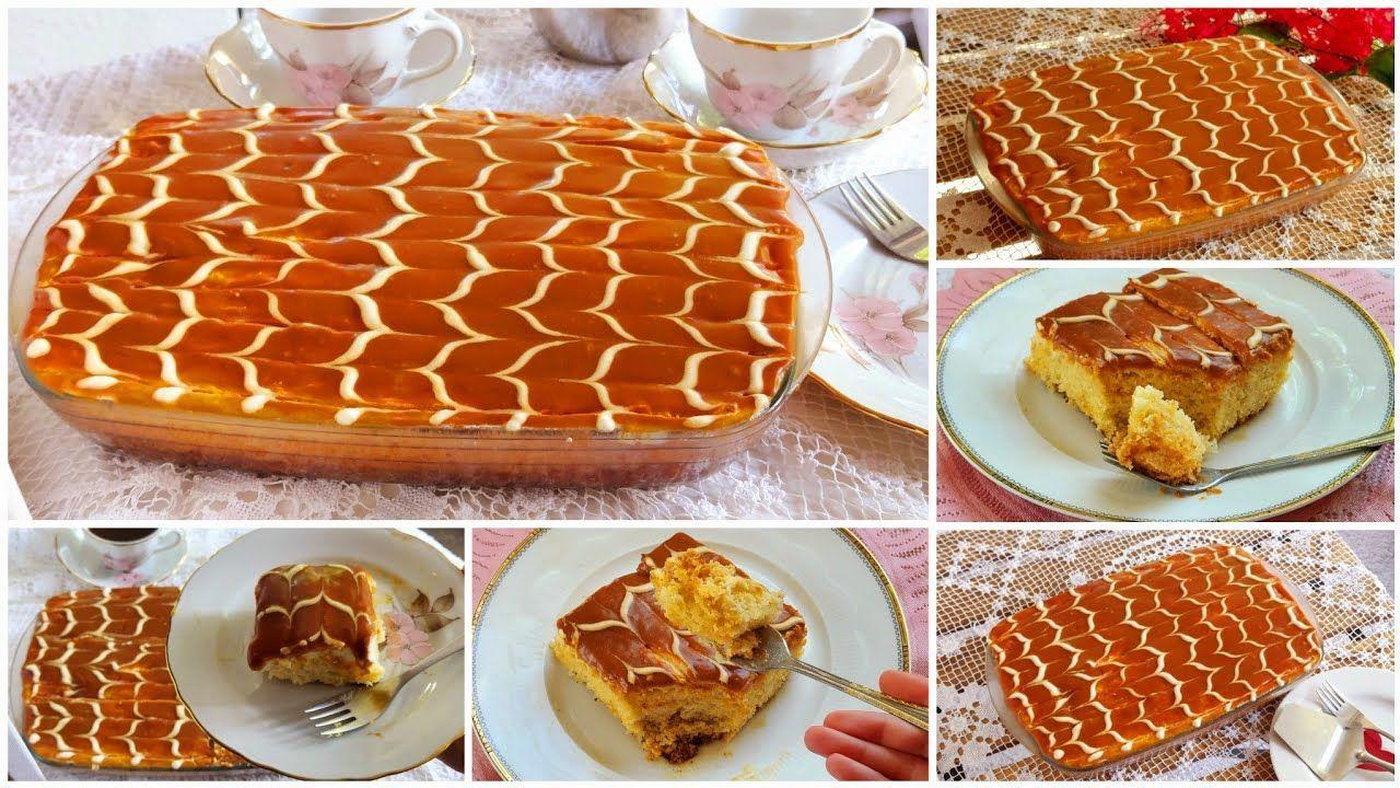 الكيكة التركية الرهيبة بالكراميل والحليب تريليتشا فخامة ما إلها حدود من الذ واطرى واروع مايكون Youtube Food Arabic Food Breakfast