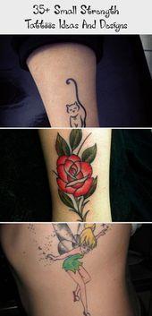 Photo of 35+ Small Strength Tattoos Ideas And Designs – The Life Ideas #tattoodesignsDi…