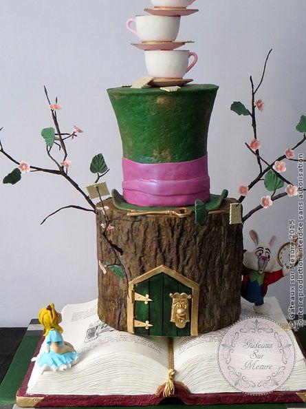 alice au pays des merveilles from a href http gateauxsurmesure com picture php 403 categories gateaux sur mesure paris formations cake design
