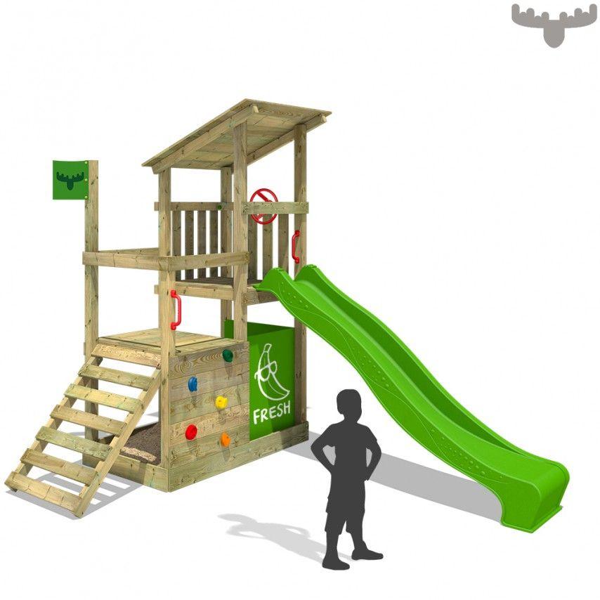 Spectacular Kinderspielturm FruityForest Fun XXL appel