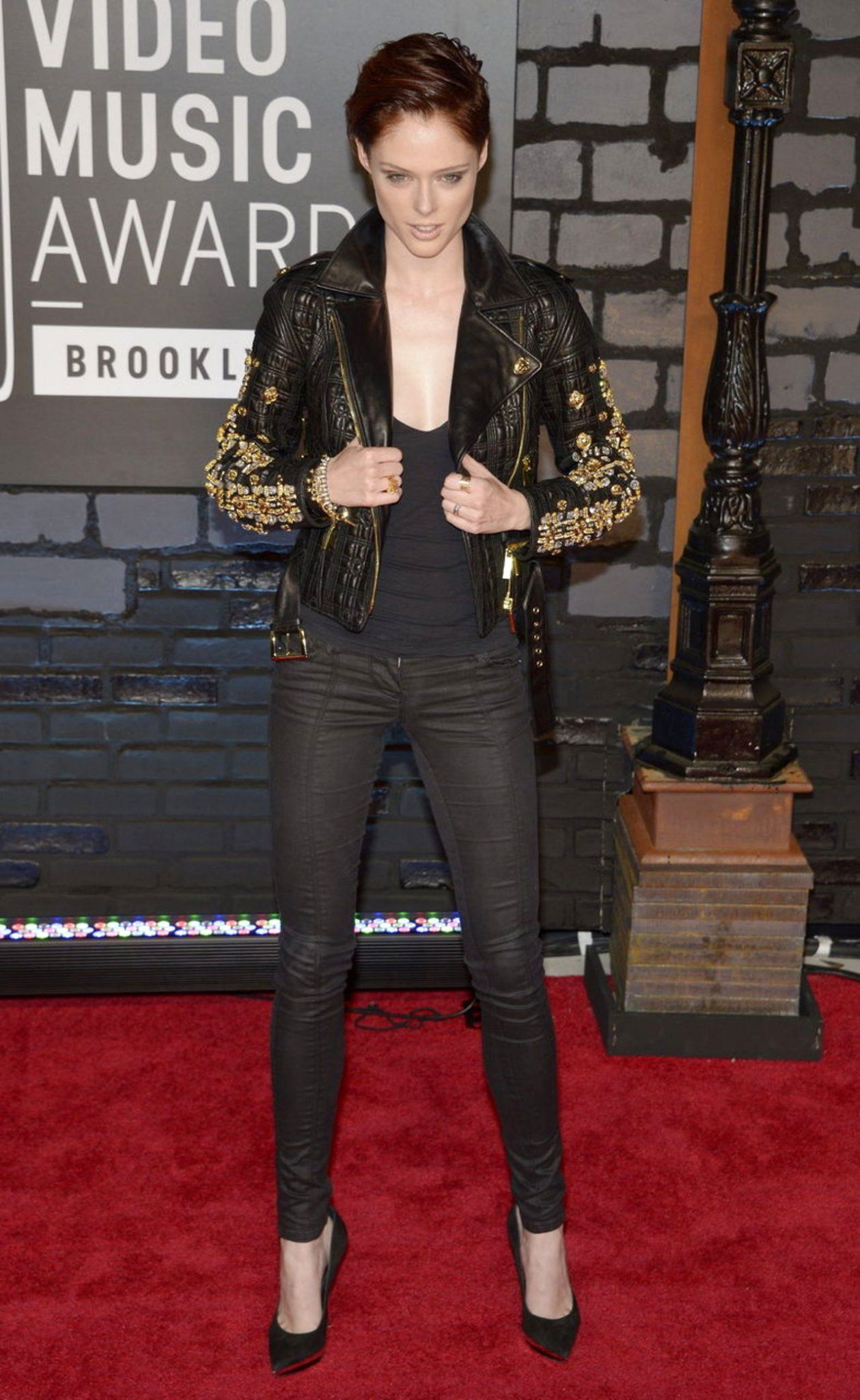 Super model Coco Rocha. Love this outfit from the VMA's