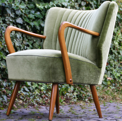 50er Jahre Cocktailsessel Mit Armlehnen Sessel Nierentisch Ara Mid Century Stuhl Sessel Cocktailsessel Nierentisch