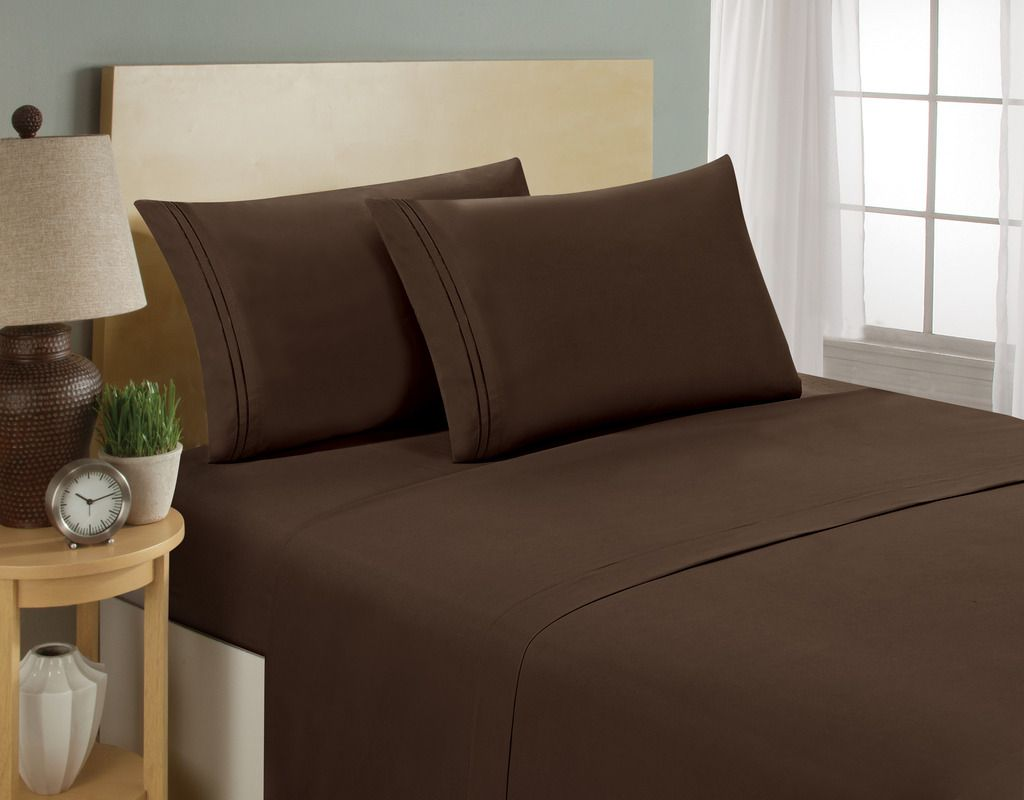 Hc Collection Premium 1500 Series Bed Sheets Hotel Quality Luxury
