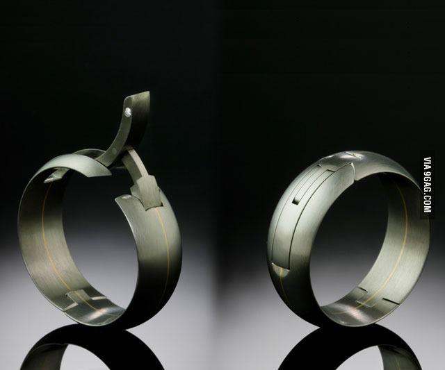 Hinged Wedding Ring Active Wedding Ring Mens Wedding Rings Hinged Wedding Ring