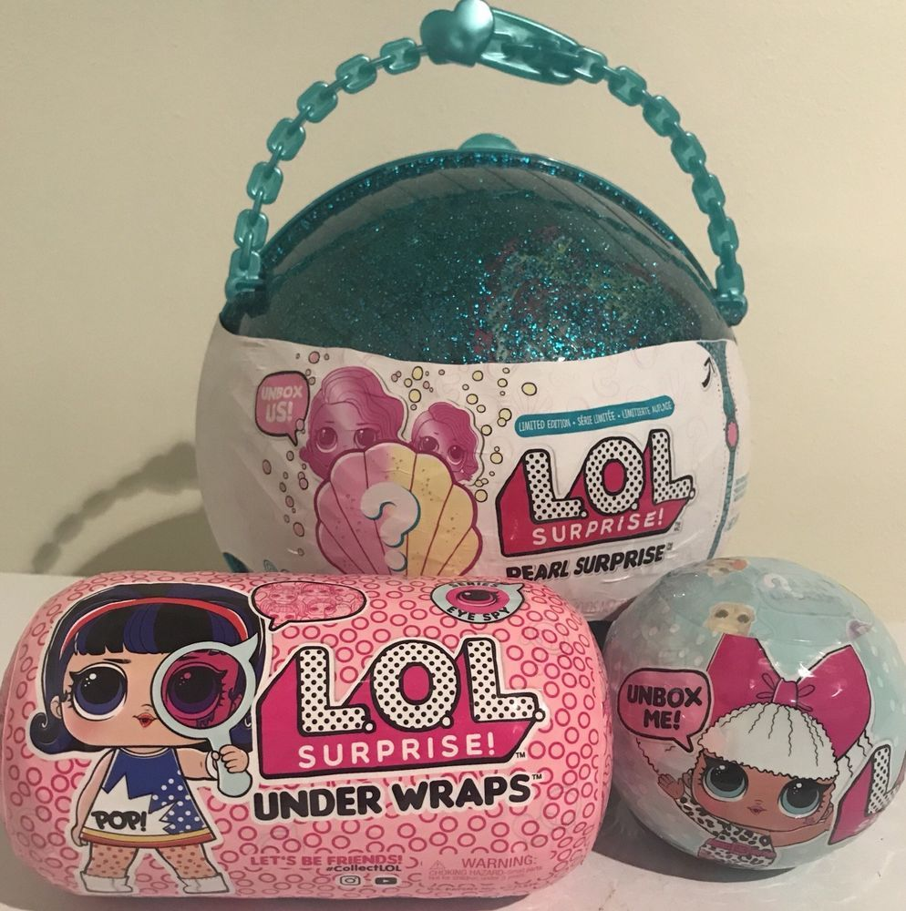 lol surprise 2018 limited edition pearl surprise mystery pack