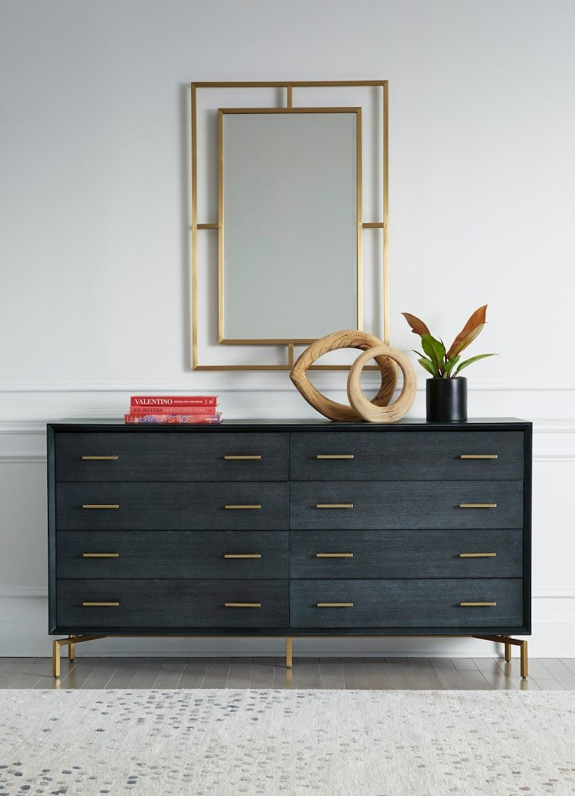 Lucien 8 Drawer Chest Chest Of Drawers Drawers Modern Frames