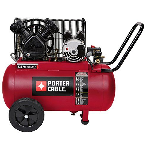 Porter Cable Pxcm202 Portable Belt Drive Air Compressor 20 Gallon Check Out The Image By Visiting The Link Thi Porter Cable Belt Drive Best Canister Vacuum