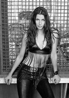 Bitch in leather pants foto 83