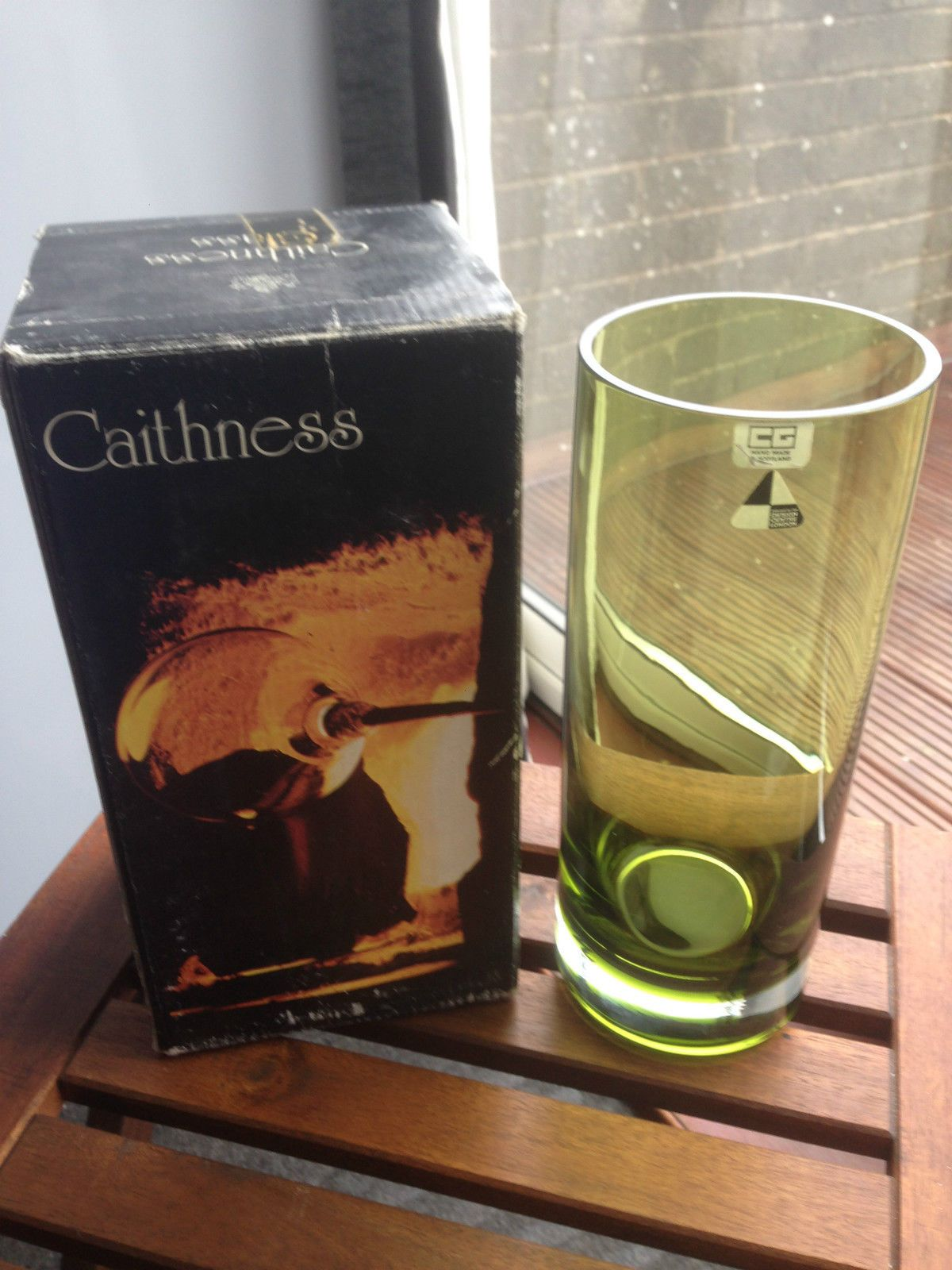 A hand made caithness glass vase ebay caithness glass a hand made caithness glass vase ebay floridaeventfo Images