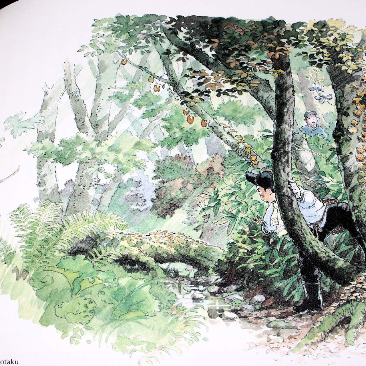 Art by 男鹿 和雄 Kazuo Oga* - Background Art | © Studio Ghibli* • Blog/Website  | (www.ghibli.jp) ☆ || CHARAC… | Miyazaki art, Environmental art,  Environment concept art