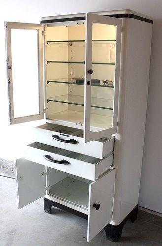 Vintage Medical Cabinet 850 Chicago Scavenger