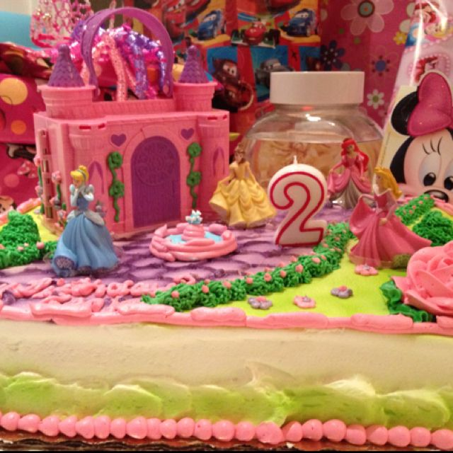 Sweettreats By Jen More Kids Cakes: Princess Castle Birthday Cake From Publix