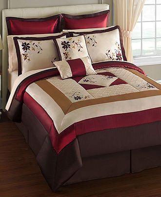 Janelle 24 Piece Comforter Sets Bed In A Bag Bed