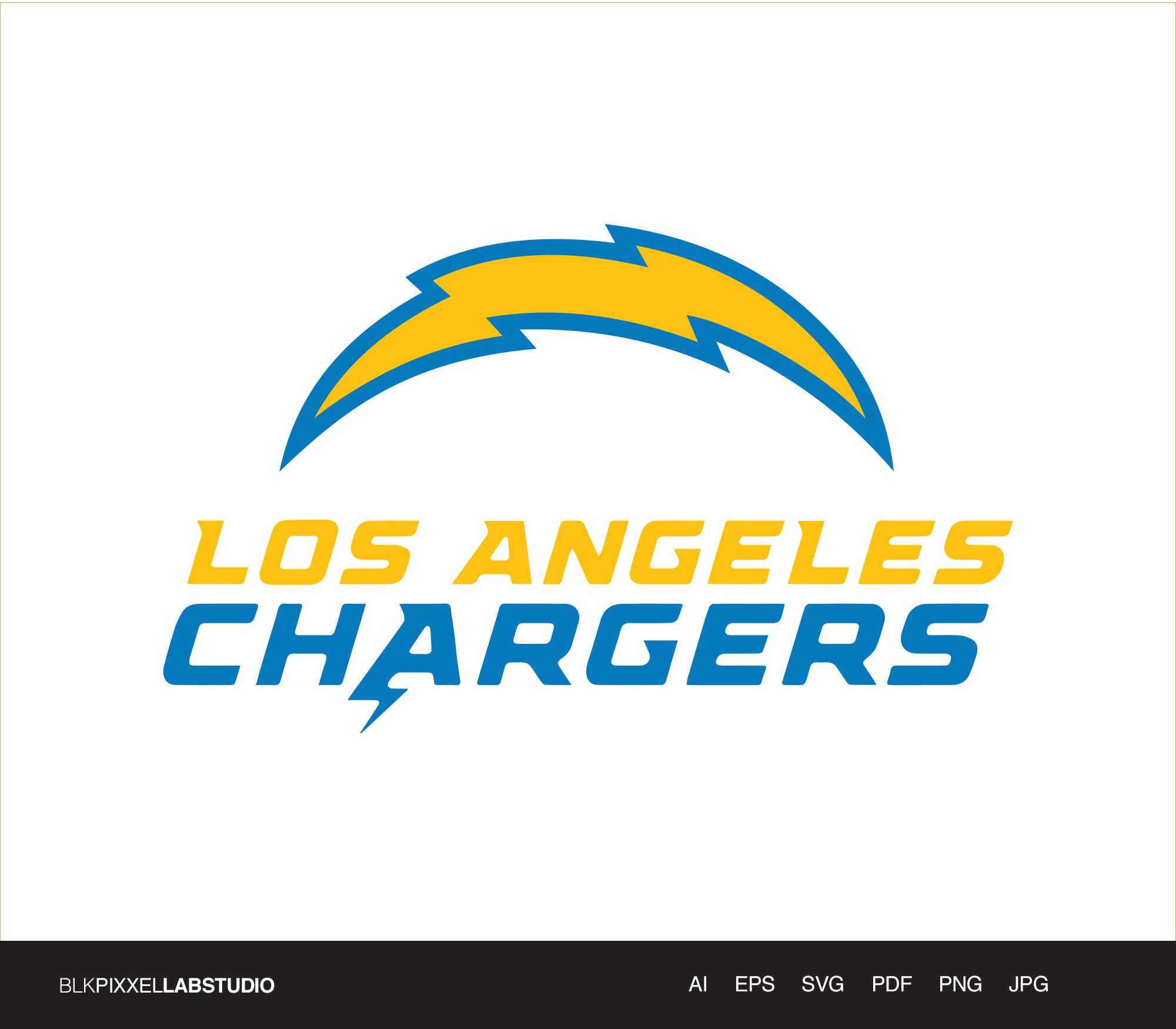 Los Angeles Chargers Svg Nfl Svg Husband Gift Gift For Etsy Nfl Logo Football Coloring Pages Los Angeles Chargers Logo