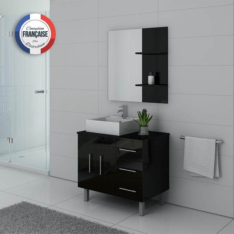 Meubles salle de bain FLORENCE Noir
