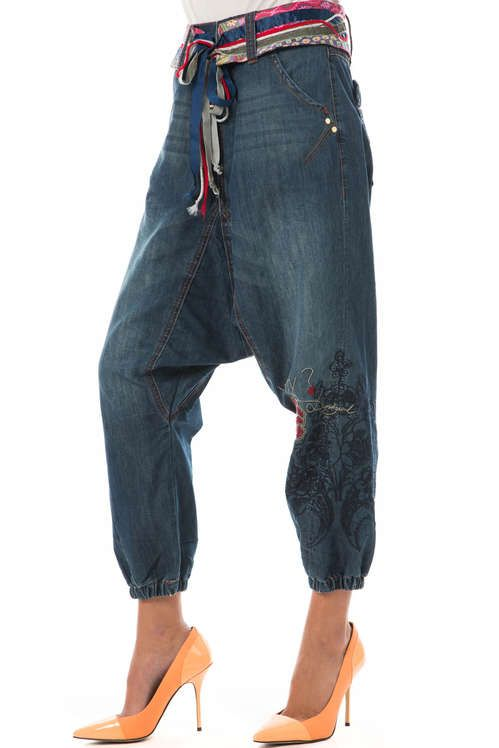 Bleu Jeans En Mary Sarouel 2019 Desigual 54RjAL