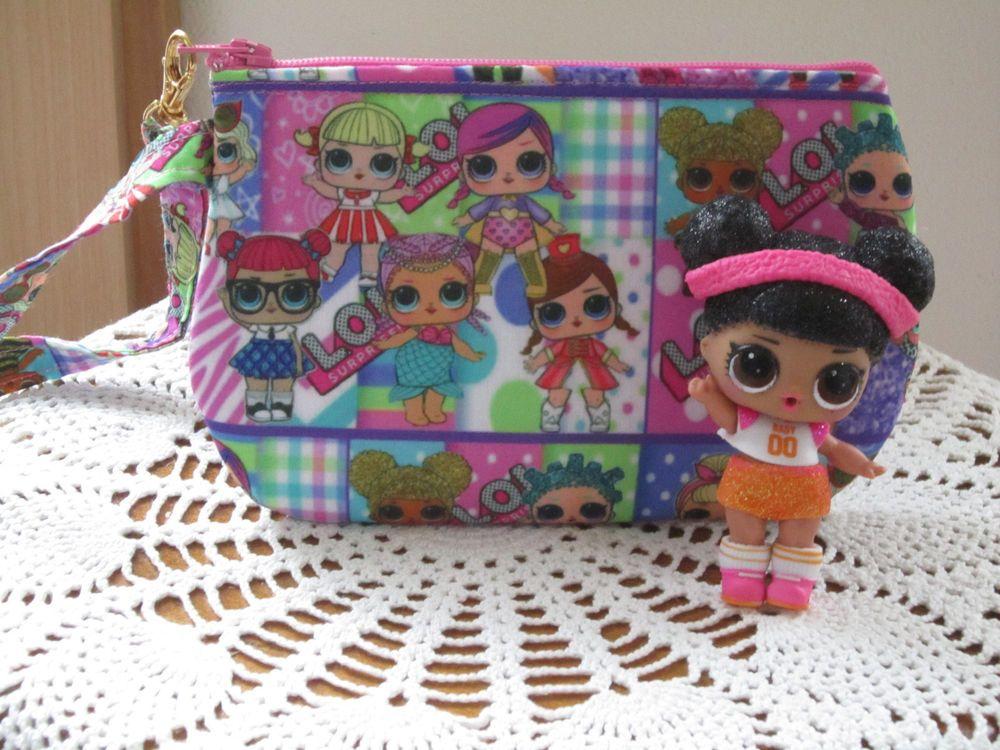 Surprise Doll Inspired Handmade Child's LOL Wristlet
