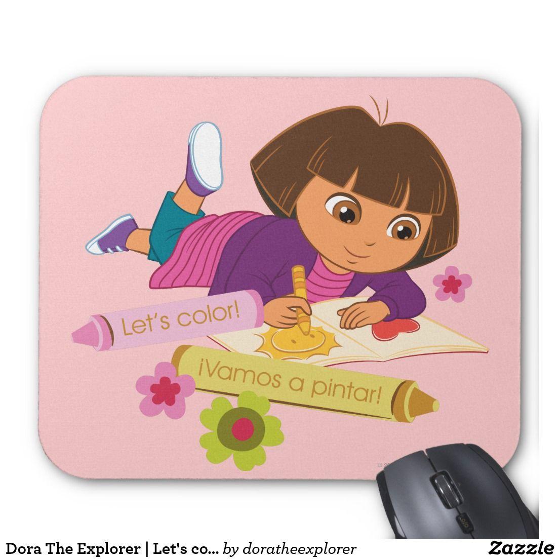Dora The Explorer | Let's color! ¡Vamos a pintar! Producto ...