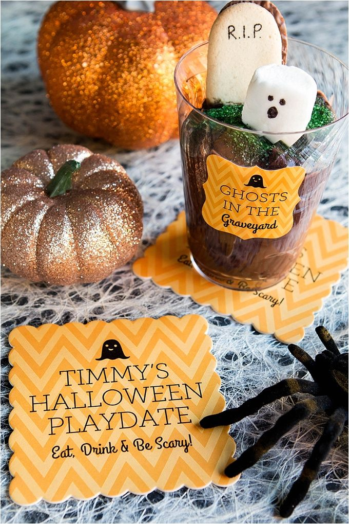 Ghost in the Graveyard Halloween Treats | Evermine Occasions | www.evermine.com