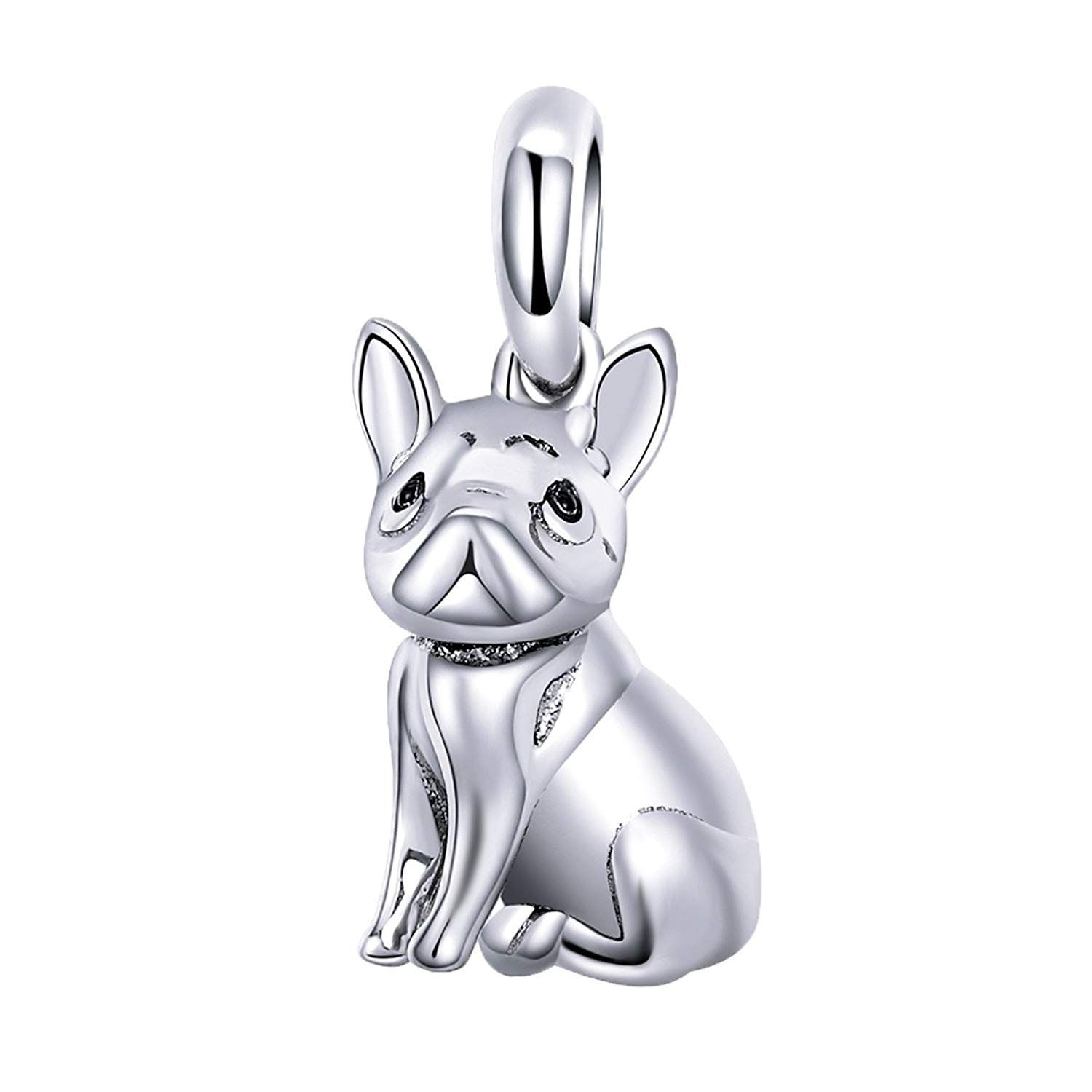 2835bac5270 ANGELFLY 925 Sterling Silver French Bulldog Charm Puppy Pet Dog Animal  Charms for Dog Lovers Bracelet *** Be sure to check out this awesome  product.