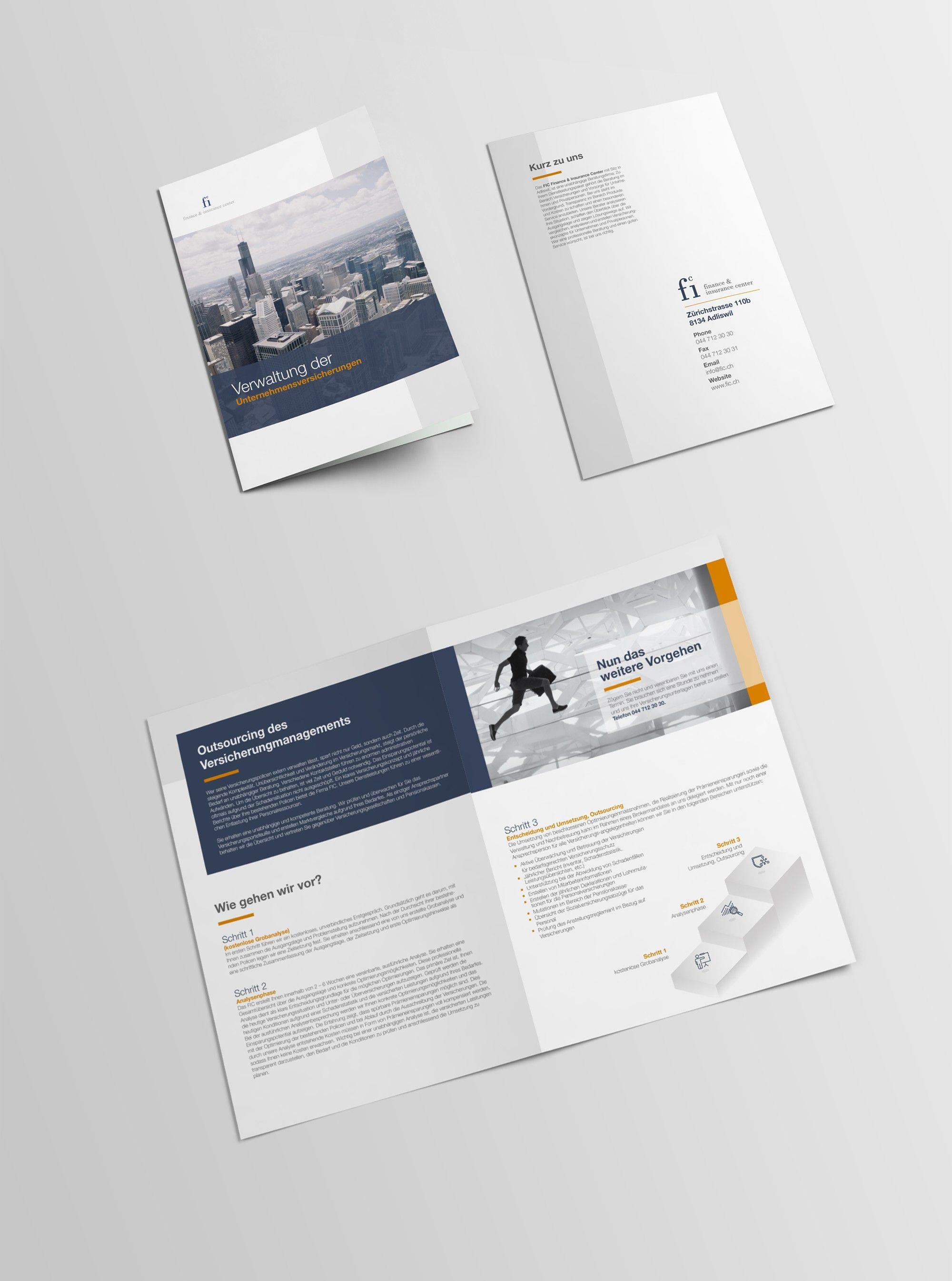 simple booklet | 99designs | Brochure | Pinterest | Profile design ...