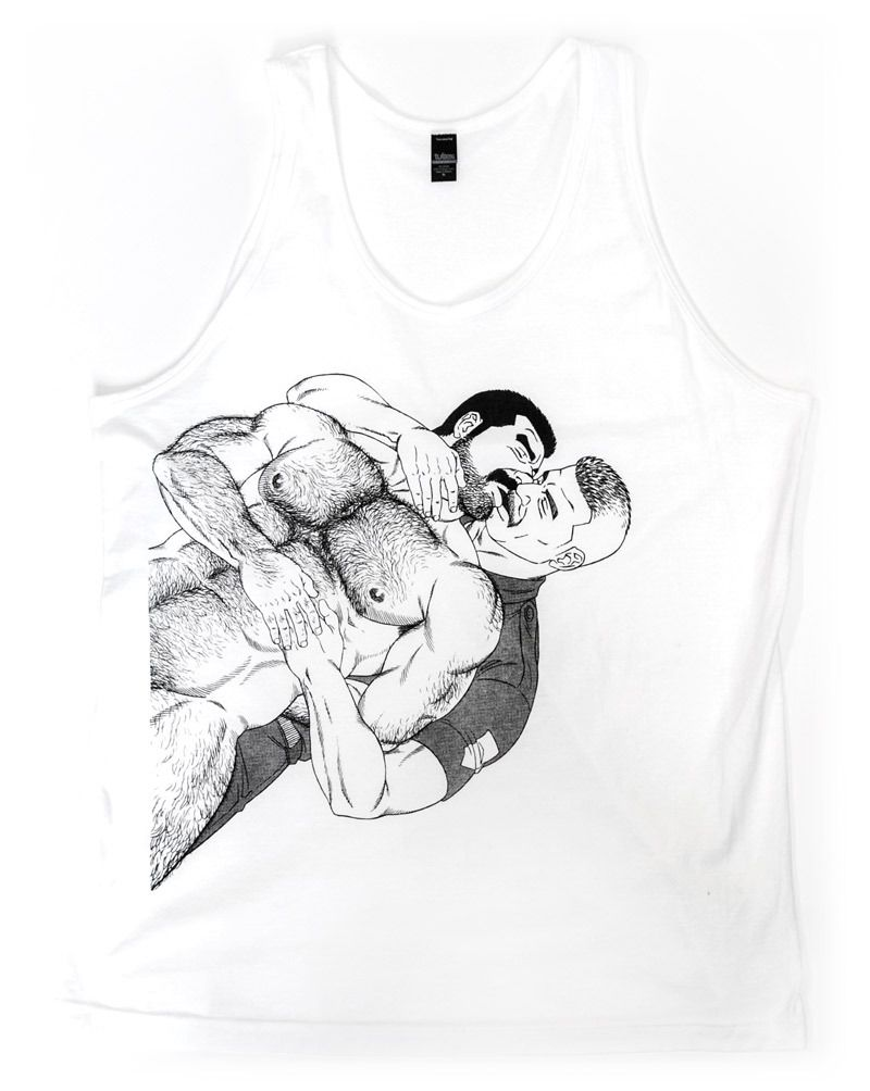 Image of KISS Tank Top by Gengoroh Tagame