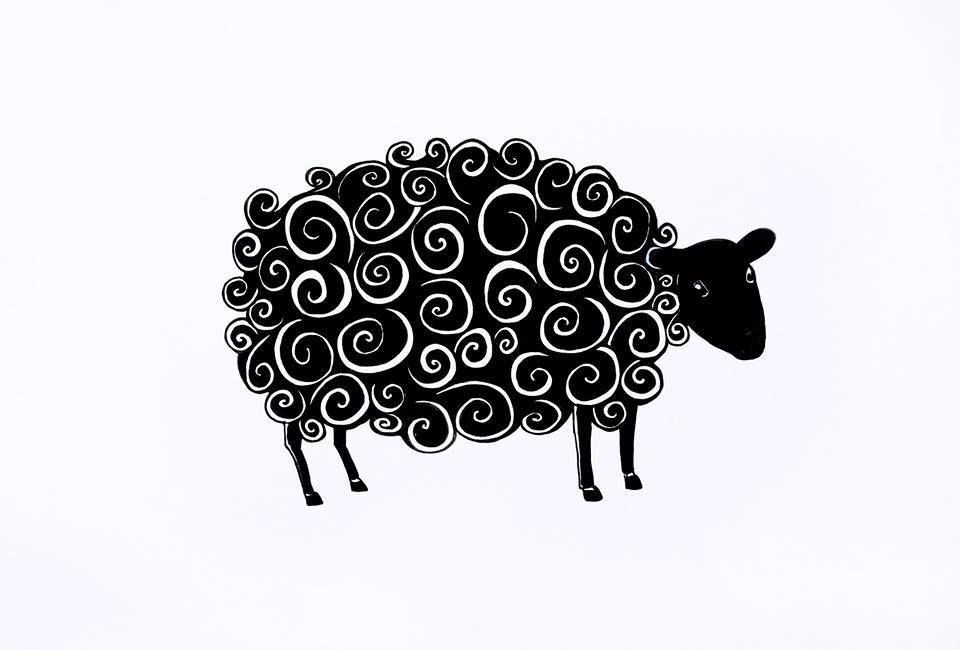 Black Sheep Tattoo Black Sheep Tattoo Sheep Tattoo Tattoos With Meaning