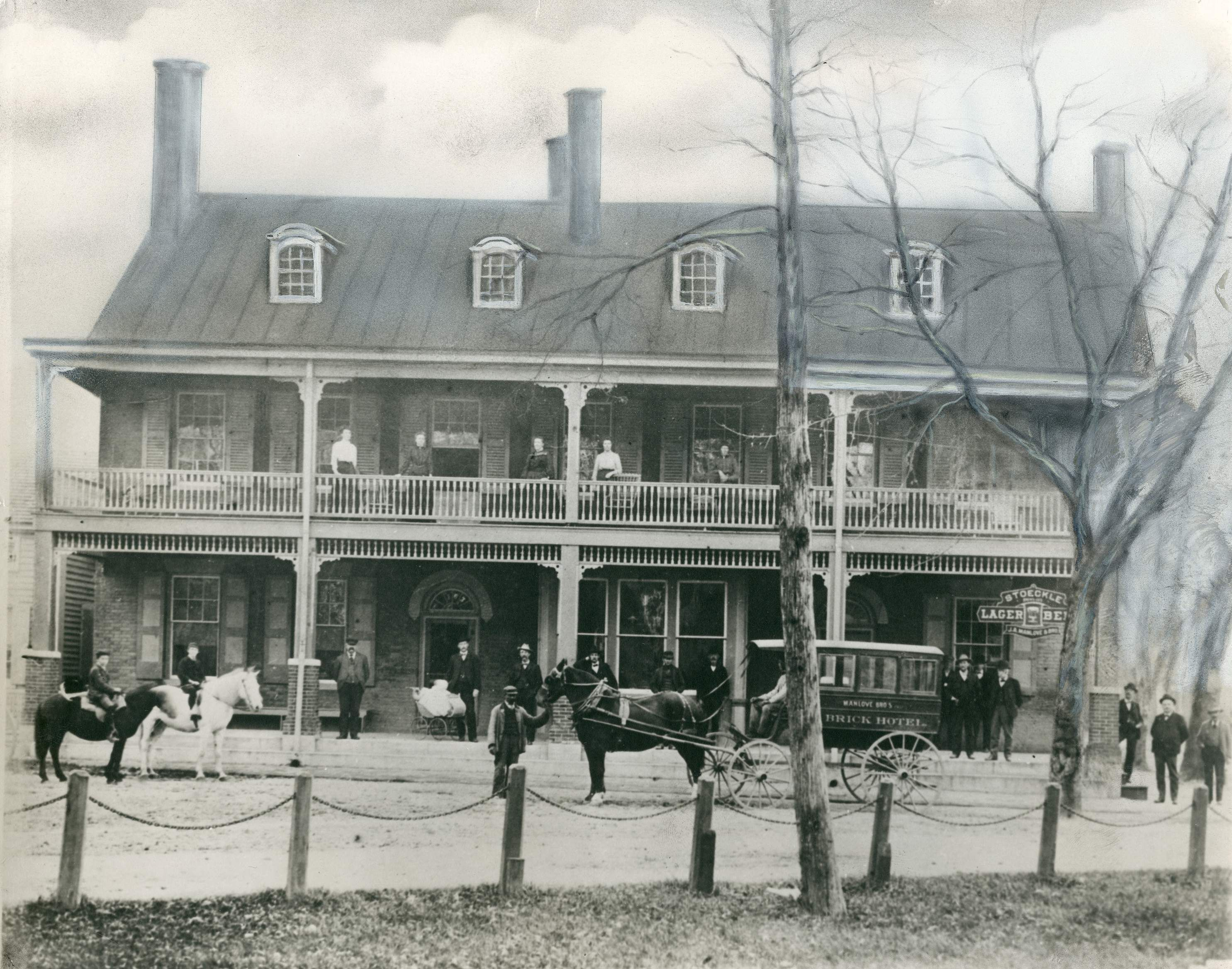 Brick Hotel In Georgetown Delaware Ca 1870 9015 000 003