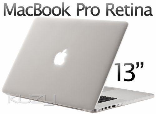 """Black Rubberized Hard Case Cover for Apple MacBook Pro 13/"""" 13.3/"""" Non-Retina"""