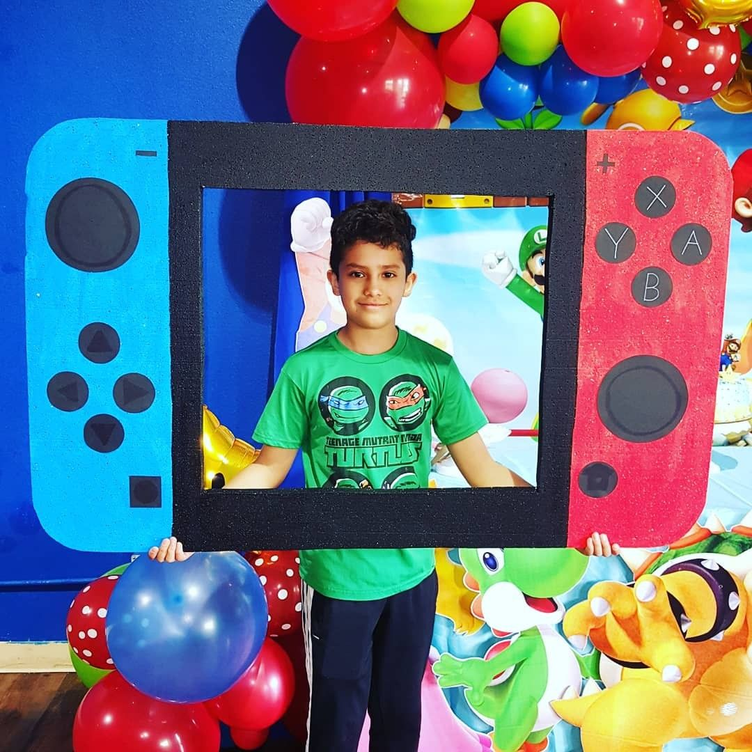 Nintendo Switch Picture frames, Frame, 10th birthday