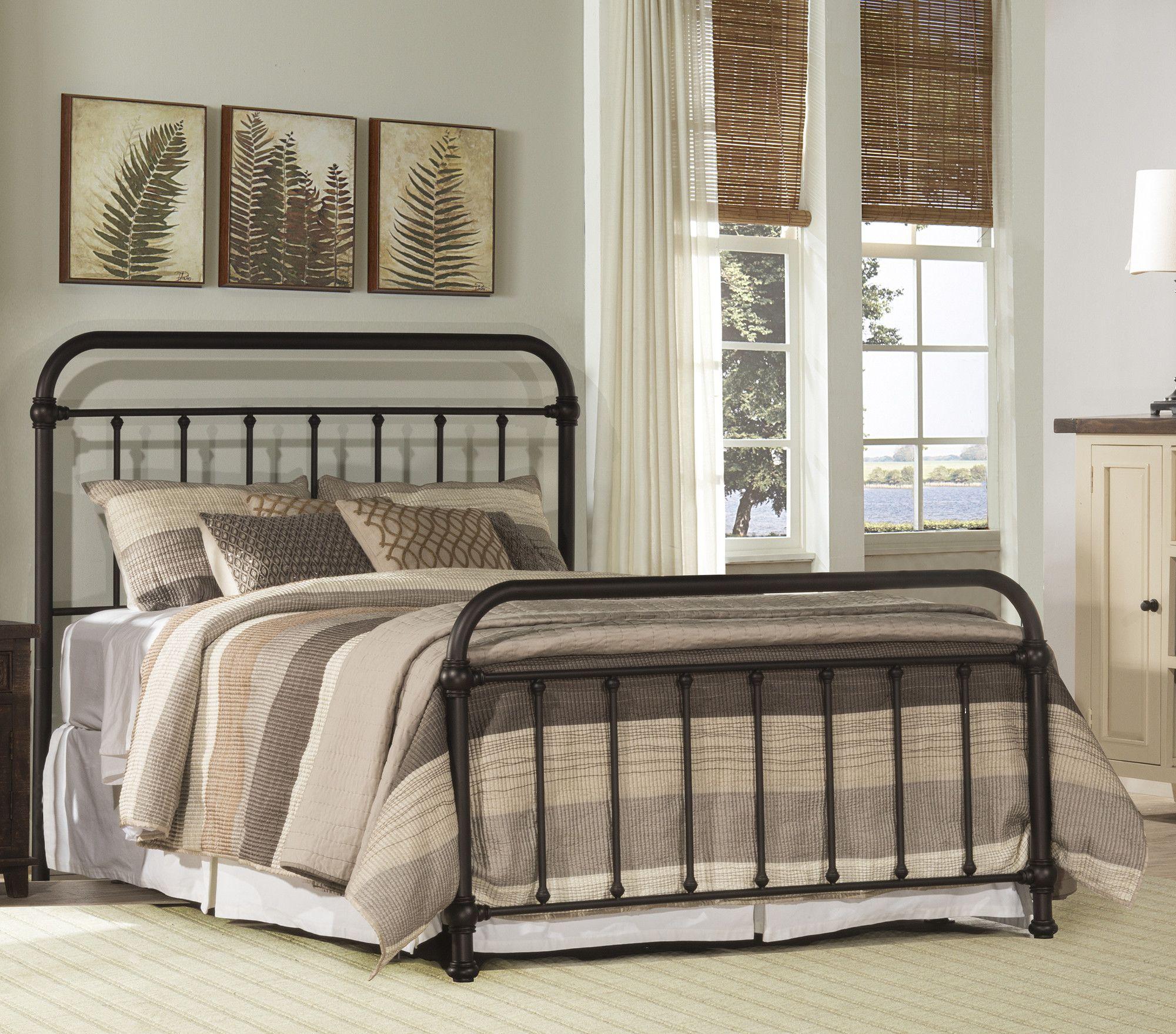 Hallie Slat Headboard Hillsdale furniture, Panel bed