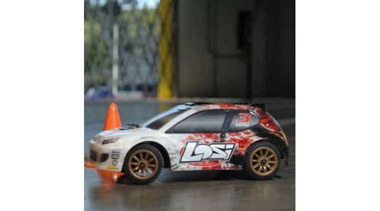 Image for 1/24 4WD Rally Car RTR  Orange/White from HorizonHobby