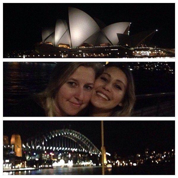 Sydney by night!  #Sydney #luda #greatnight #operahouse #sydneyharbourbridge #sydneybynight #happiness by emmagunima http://ift.tt/1NRMbNv