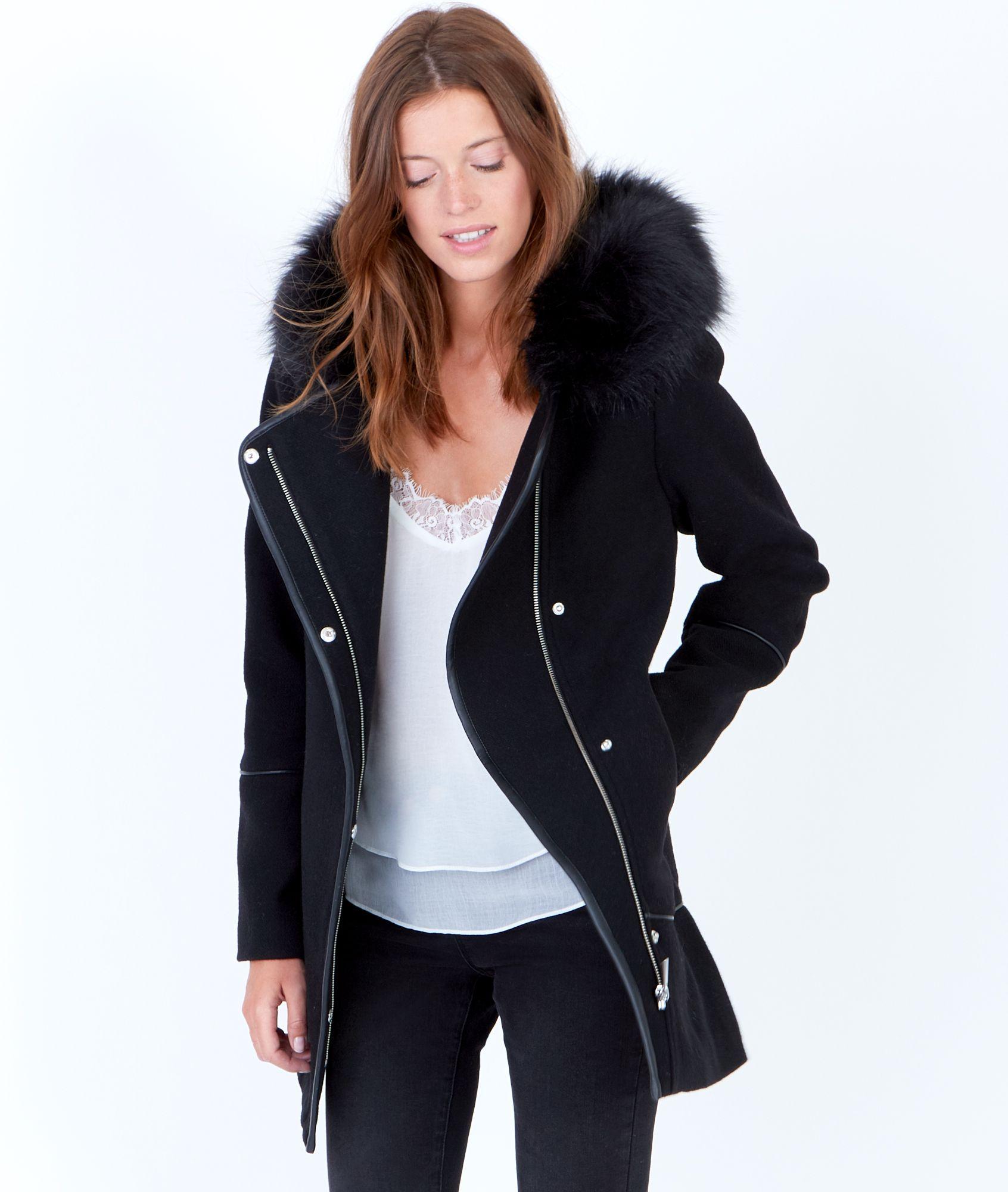 emmitouflez vous de style dans ce manteau en laine on. Black Bedroom Furniture Sets. Home Design Ideas