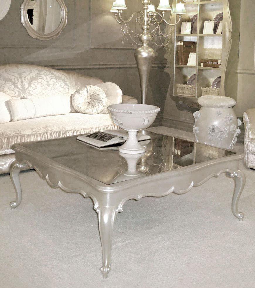 Silver Leaf Coffee Table