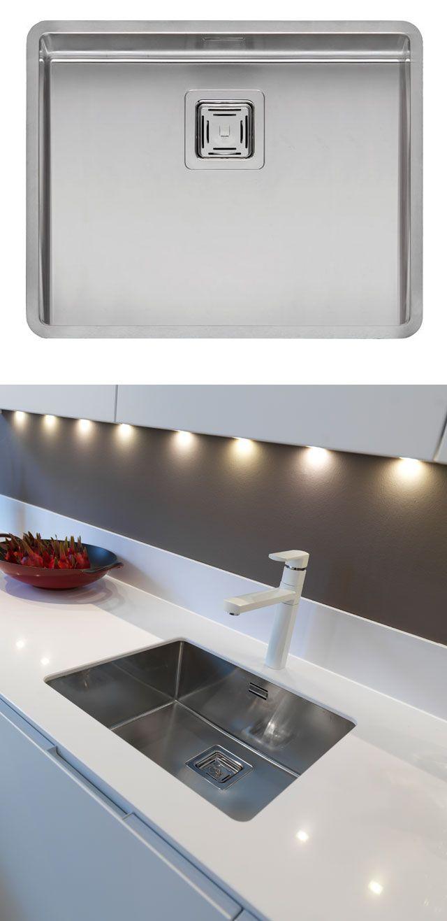 Reginox Texas 50x40 Large Bowl Kitchen Sink Rf802s