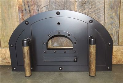Md 208 Ah Premium Arched Hinged Pizza Oven Door In 2019 Pizza Oven