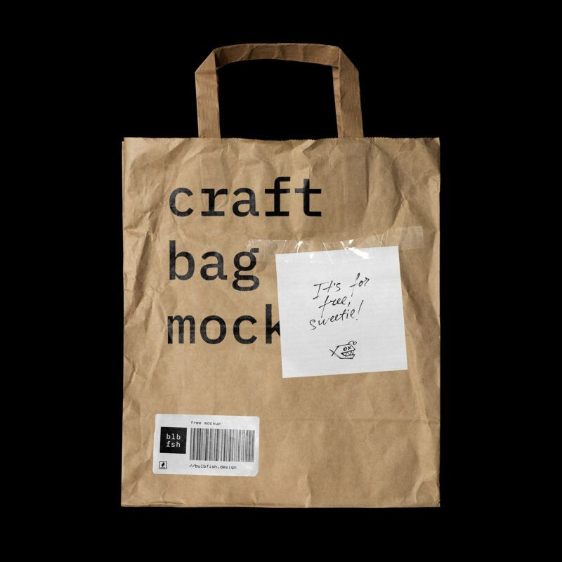 Use the most unique collection of mockup templates to create stunning. Free Paper Bag Mockup 1 In 2021 Bag Mockup Craft Bags Free Packaging Mockup