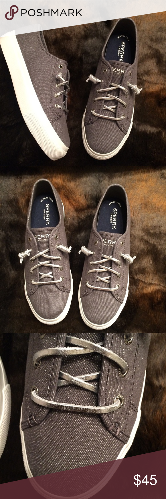 ad4cd78580 Sperry Sky Sail Platform Sneaker These shoes are beautiful! They feature  the signature memory foam