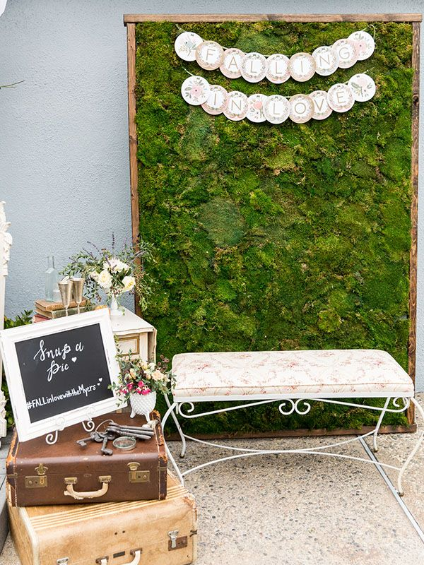 1960s Tea Party Bridal Shower Ideas | Photo Booth Ideas