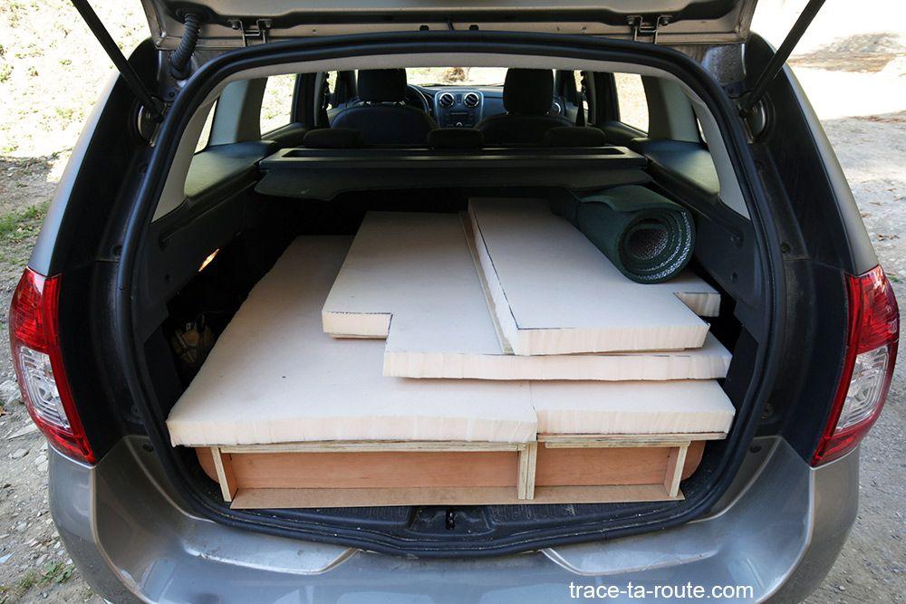 road trip comment am nager sa voiture break pour dormir dedans pinterest car camper and. Black Bedroom Furniture Sets. Home Design Ideas