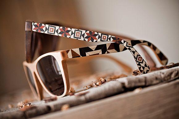 e7c23c42d1 Gafas de sol de madera artesanales | S t y l e | Óculos, Madeira, Ideias