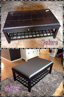Refurbished coffee table DIY ideas Pinterest Refurbished