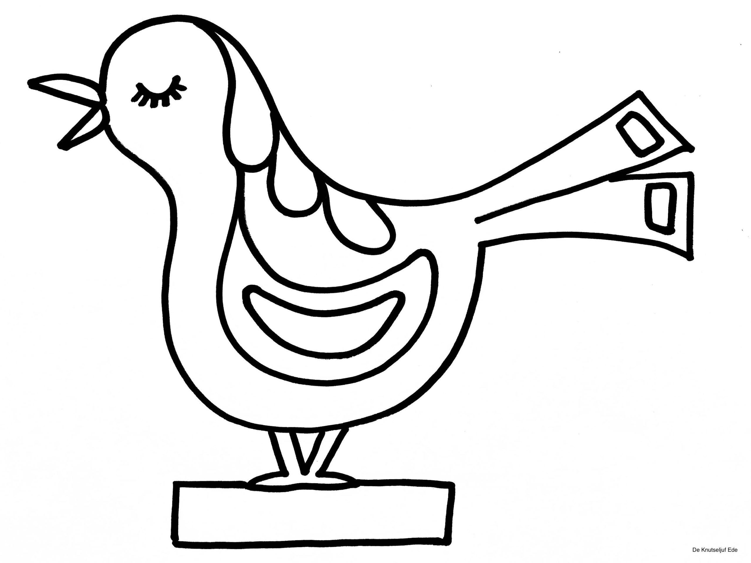 46 ausmalbild vogelhaus download kostenlos