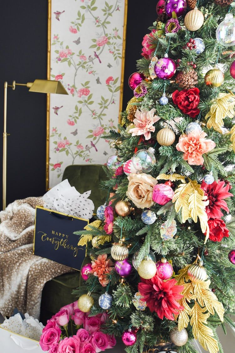 Colorful Christmas Decorations For A Home Office Colorful