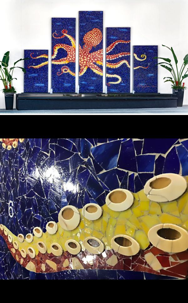 Sculptures - Spiridoula in 2020   Mosaic projects, Custom ...