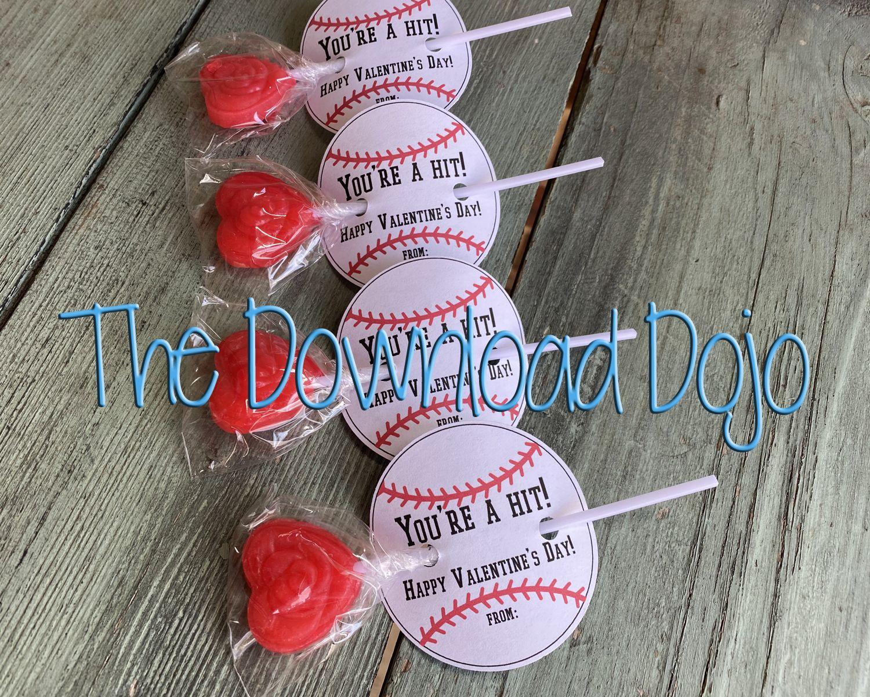 Baseball valentines sports valentines valentines day